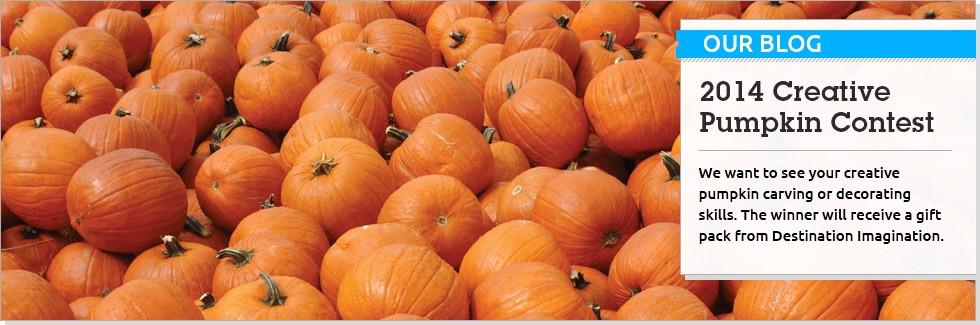 Creative Pumpkin Contest 2014